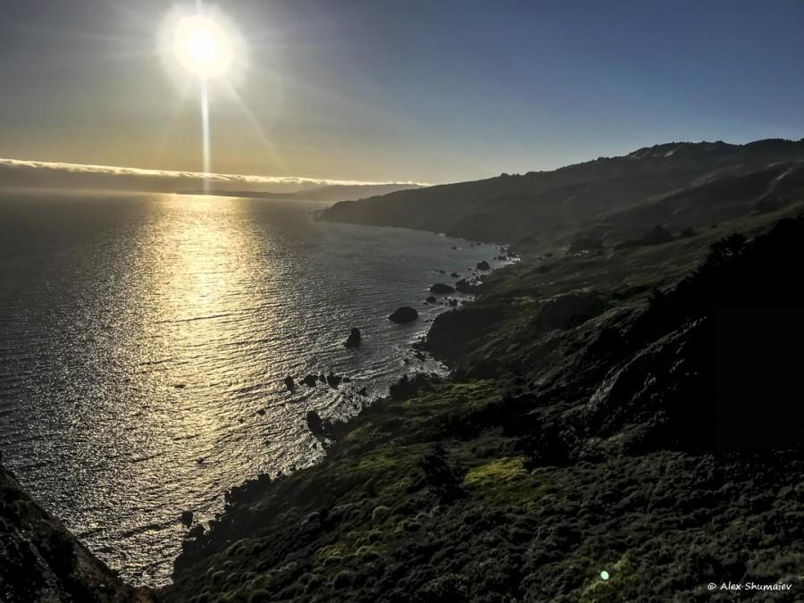 Muir Beach Outlook - место, где соединяется небо и земля